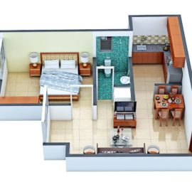 1 BHK Ground Floor TYPE 1