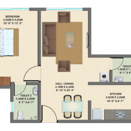 1BHK GROUND FLOOR TYPE 7