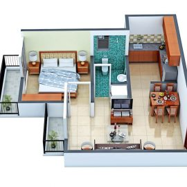 1BHK TF TYPE 2