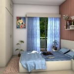 Bedroom - Model Apartment